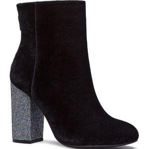 Shoedazzle Gigi Block Heel Booties